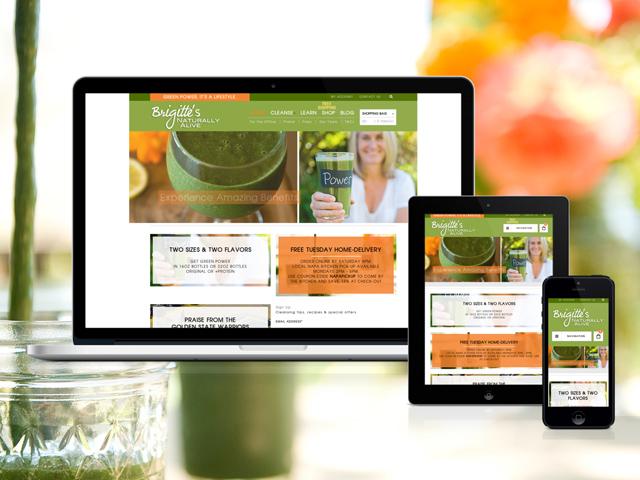 Brigitte's Naturally Alive - WordPress eCommerce